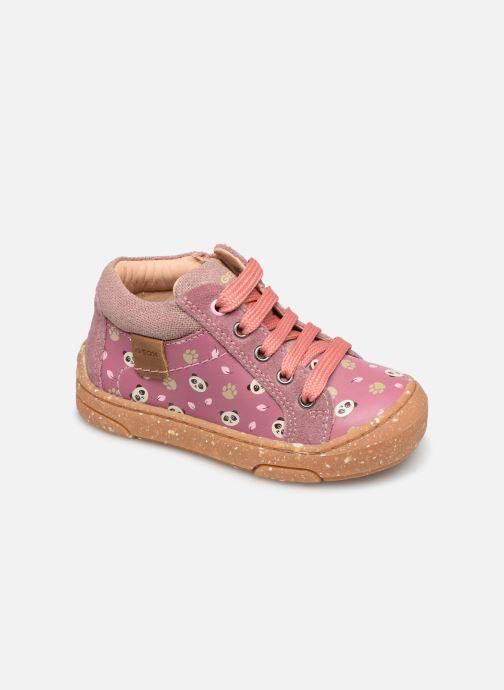 Bottines et boots Geox B Jayj Girl x WWF Rose vue détail/paire