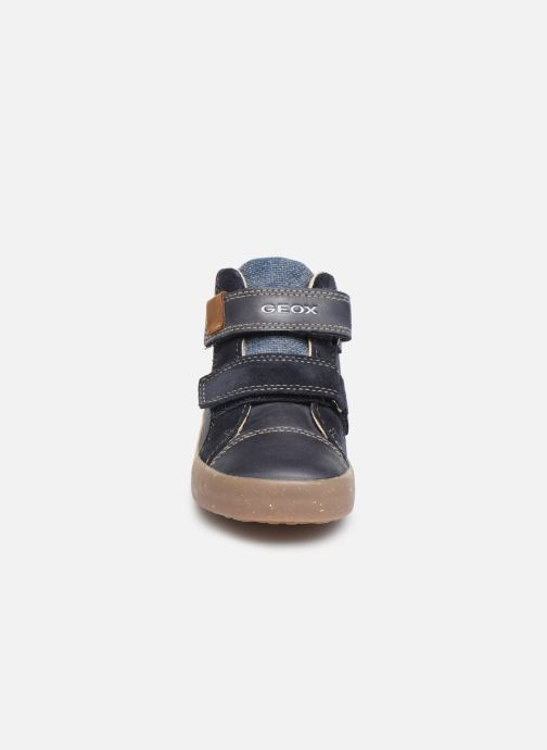 Baskets Geox B Kilwi Boy x WWF Bleu vue portées chaussures