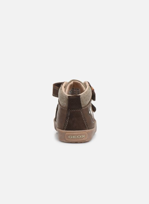 Sneakers Geox B Kilwi Boy x WWF Bruin rechts