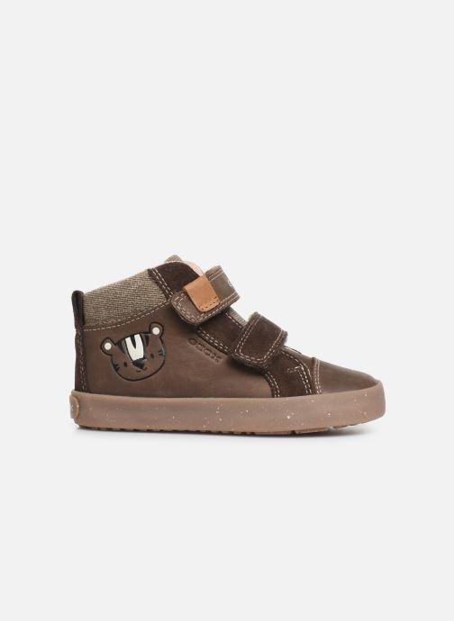 Sneakers Geox B Kilwi Boy x WWF Bruin achterkant