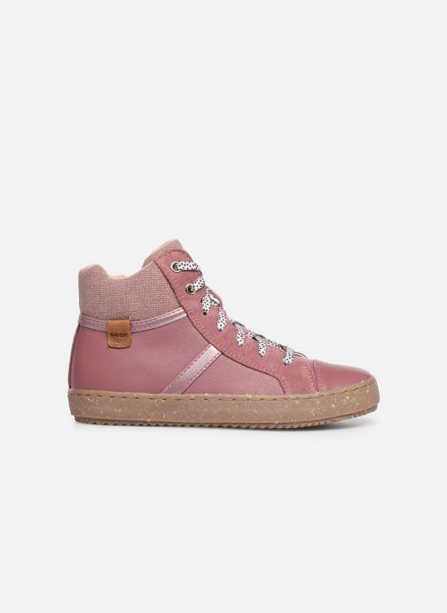 Sneakers Geox J Kalispera Girl x WWF Roze achterkant