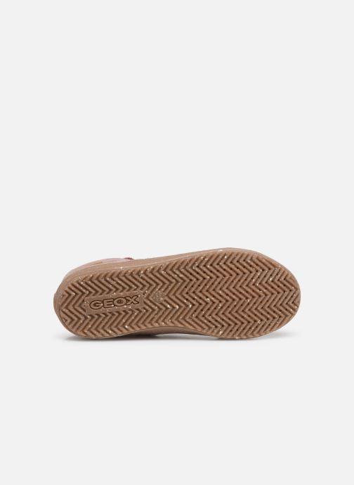 Sneakers Geox J Kalispera Girl x WWF Roze boven