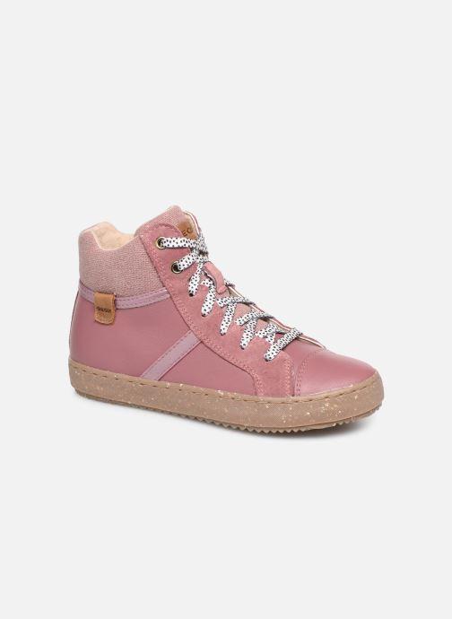 Sneaker Geox J Kalispera Girl x WWF rosa detaillierte ansicht/modell