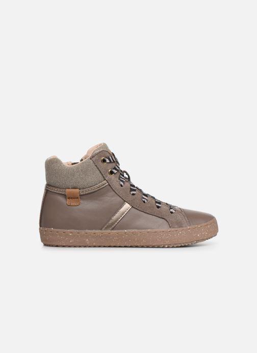Sneakers Geox J Kalispera Girl x WWF Bruin achterkant