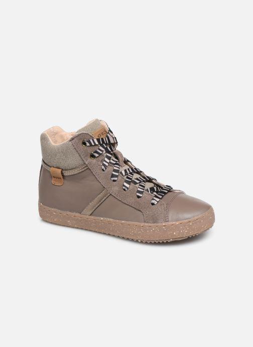 Sneakers Geox J Kalispera Girl x WWF Bruin detail