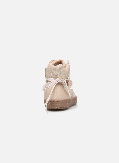 Sneakers Geox J Kalispera Girl x WWF Wit rechts