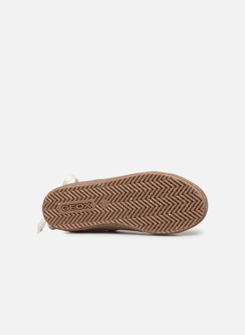Sneakers Geox J Kalispera Girl x WWF Wit boven