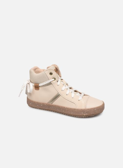 Sneakers Geox J Kalispera Girl x WWF Wit detail