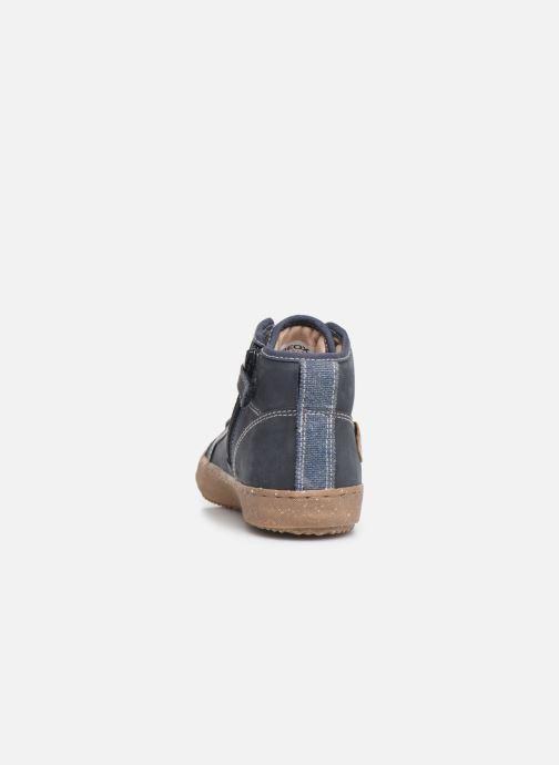 Sneakers Geox J Alonisso Boy x WWF Blauw rechts