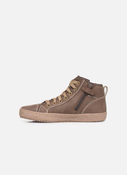 Sneakers Geox J Alonisso Boy x WWF Bruin voorkant