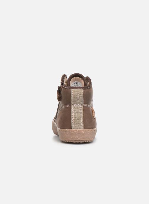 Sneakers Geox J Alonisso Boy x WWF Bruin rechts