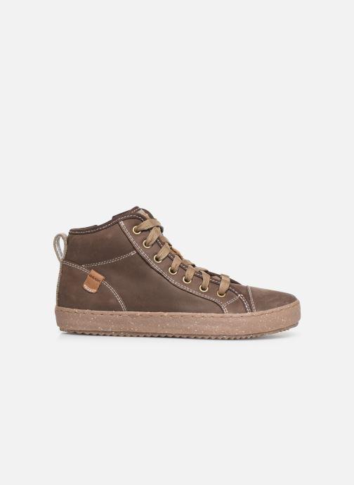 Sneakers Geox J Alonisso Boy x WWF Bruin achterkant