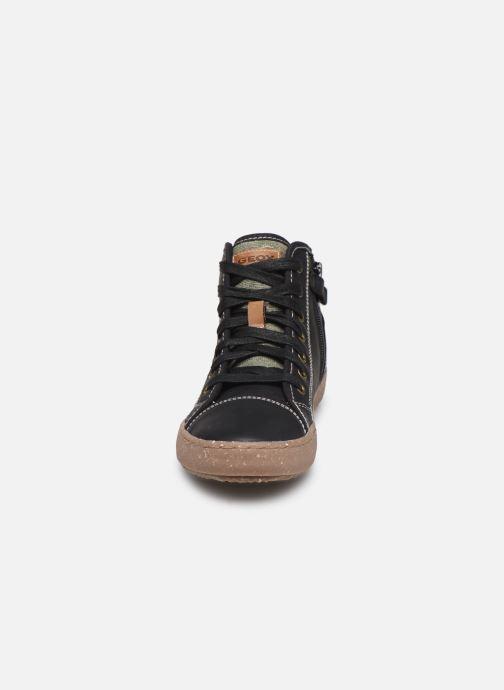 Baskets Geox J Alonisso Boy x WWF Noir vue portées chaussures