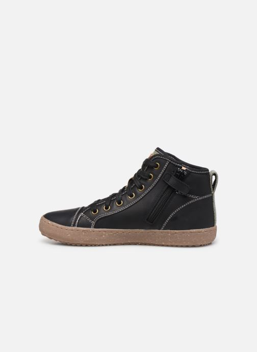Sneakers Geox J Alonisso Boy x WWF Zwart voorkant