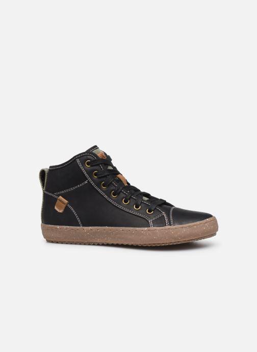 Sneakers Geox J Alonisso Boy x WWF Zwart achterkant