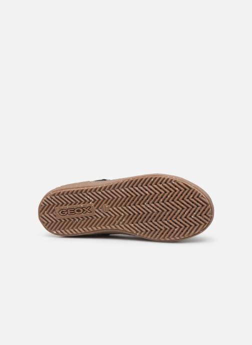 Baskets Geox J Alonisso Boy x WWF Noir vue haut