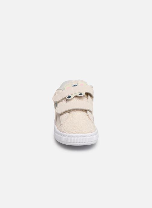 Baskets Puma S Winter Monster Blanc vue portées chaussures