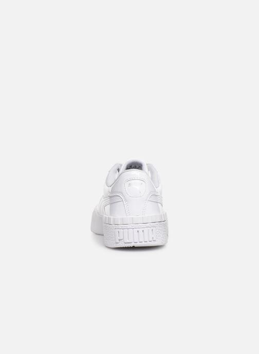 Baskets Puma Cali Patent Blanc vue droite