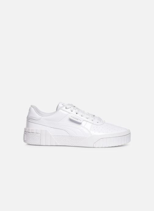 Sneaker Puma Cali Patent weiß ansicht von hinten