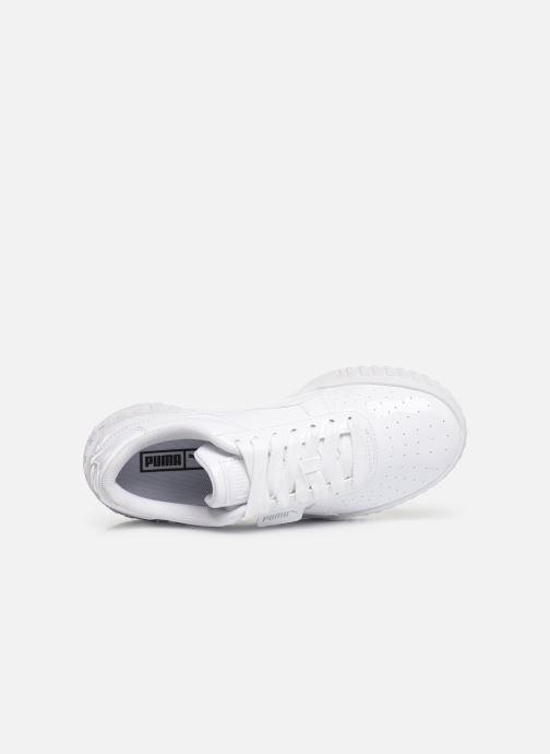 Baskets Puma Cali Patent Blanc vue gauche