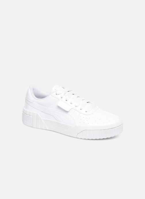 Trainers Puma Cali Patent White detailed view/ Pair view