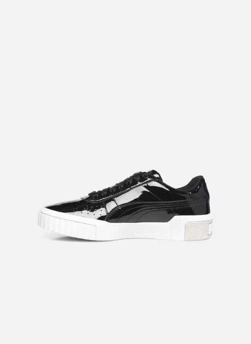 Sneakers Puma Cali Patent Nero immagine frontale