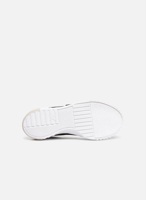 Sneakers Puma Cali Patent Nero immagine dall'alto