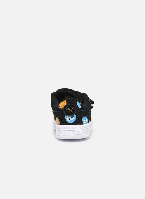 Baskets Puma Sesame Suede Badge Ac Noir vue droite