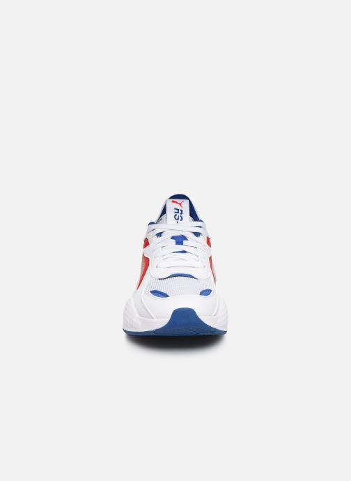 Baskets Puma Rsx Hard Drive Blanc vue portées chaussures