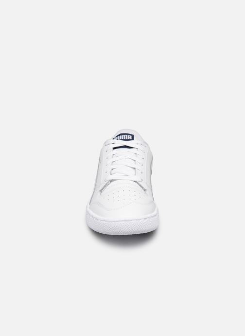 Baskets Puma Ralph Sampson Lo Blanc vue portées chaussures