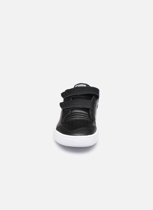 Baskets Puma Ralph Sampson Lo V Noir vue portées chaussures