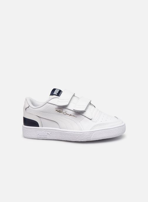 Sneakers Puma Ralph Sampson Lo V Wit achterkant