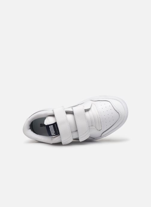 Trainers Puma Ralph Sampson Lo V White view from the left
