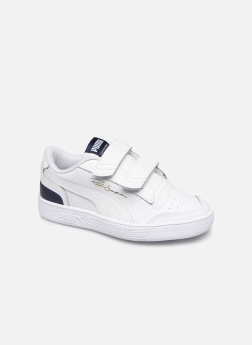 Trainers Puma Ralph Sampson Lo V White detailed view/ Pair view