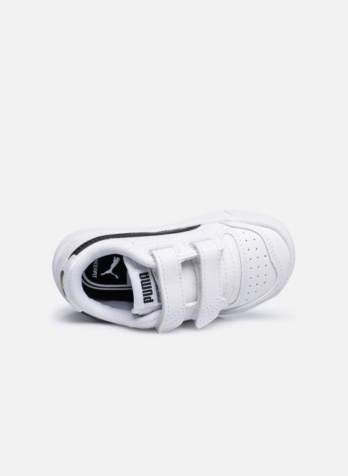 Sneaker Puma Ralph Sampson Lo V weiß ansicht von links