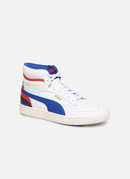 Trainers Puma Ralph Sampson Mid White detailed view/ Pair view