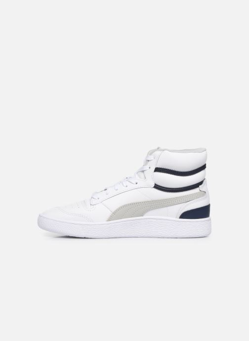 Sneakers Puma Ralph Sampson Mid Wit voorkant