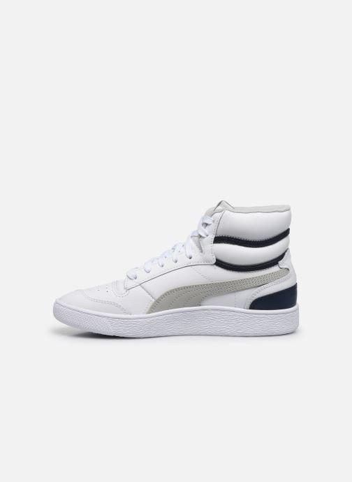 Sneaker Puma Ralph Sampson Mid weiß ansicht von vorne