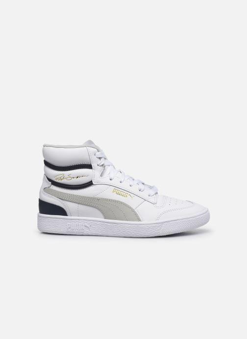 Sneaker Puma Ralph Sampson Mid weiß ansicht von hinten