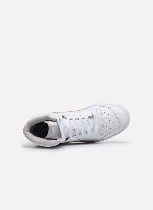 Sneaker Puma Ralph Sampson Mid weiß ansicht von links