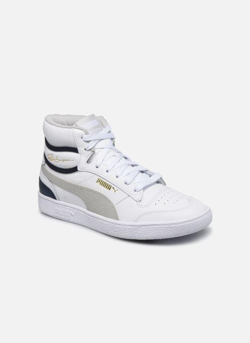 Sneaker Puma Ralph Sampson Mid weiß detaillierte ansicht/modell
