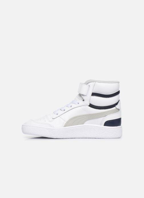 Sneakers Puma Ralf Sampson Mid V Wit voorkant