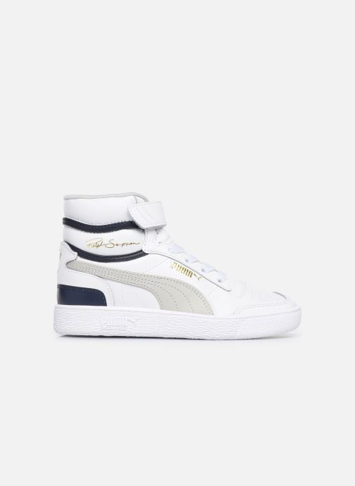 Trainers Puma Ralf Sampson Mid V White back view