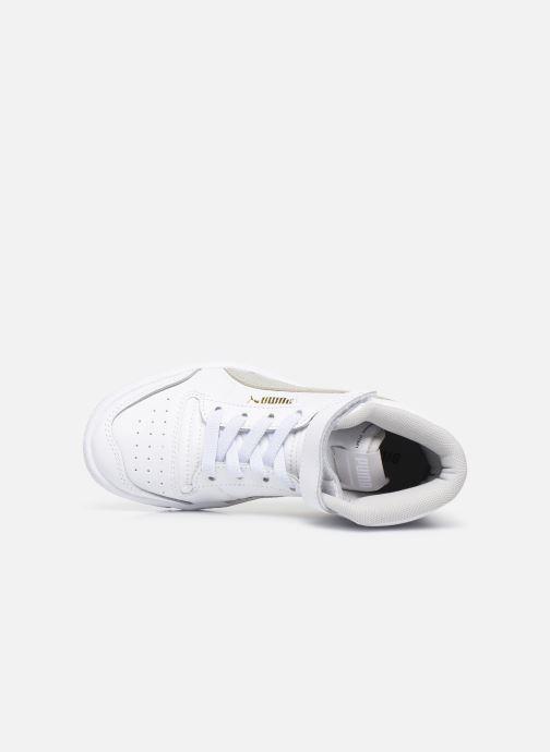 Sneakers Puma Ralf Sampson Mid V Wit links