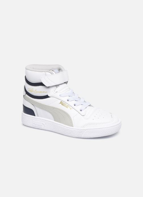 Sneakers Puma Ralf Sampson Mid V Wit detail