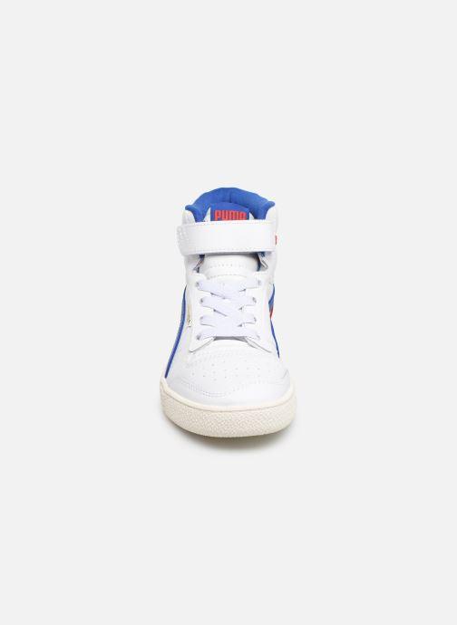 Baskets Puma Ralf Sampson Mid V Blanc vue portées chaussures