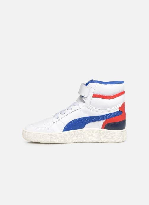 Sneakers Puma Ralf Sampson Mid V Wit voorkant