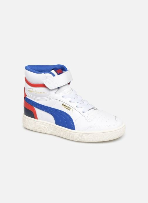 Trainers Puma Ralf Sampson Mid V White detailed view/ Pair view
