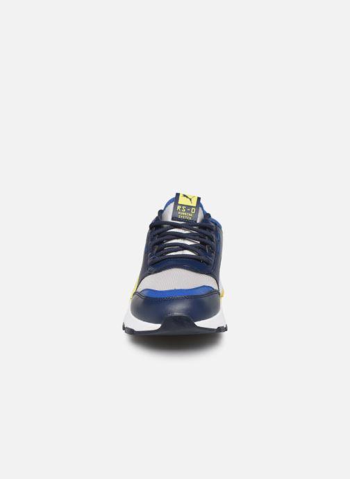 Sneakers Puma Rs0 Smart Azzurro modello indossato