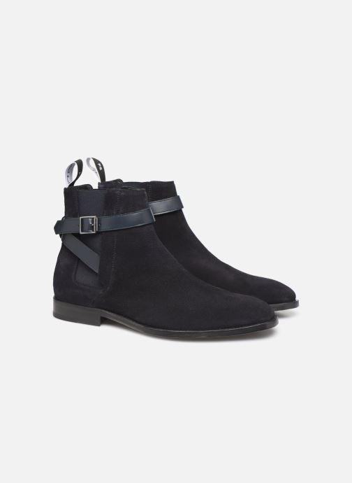 Bottines et boots PS Paul Smith Harrow Bleu vue 3/4